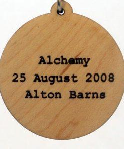 Alchemy Wood Pendant