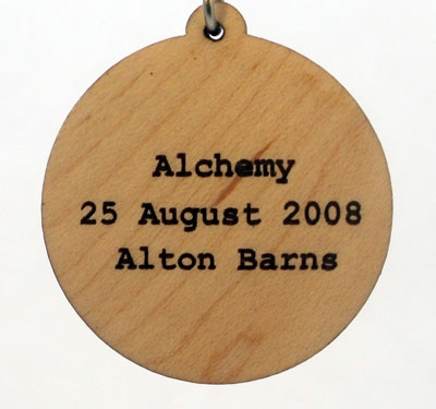 Alchemy Wood Pendant