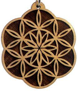 Blossoming Wood Pendant