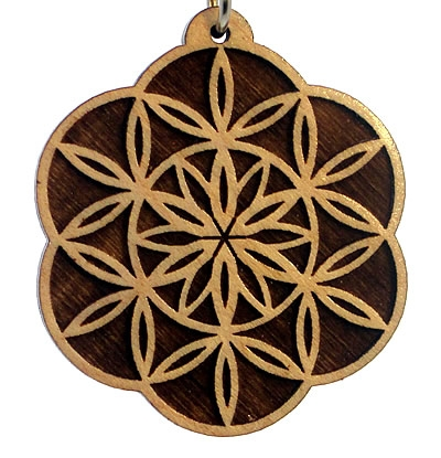Blossoming Wood Pendant