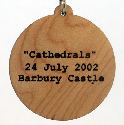 Cathedrals Wood Pendant