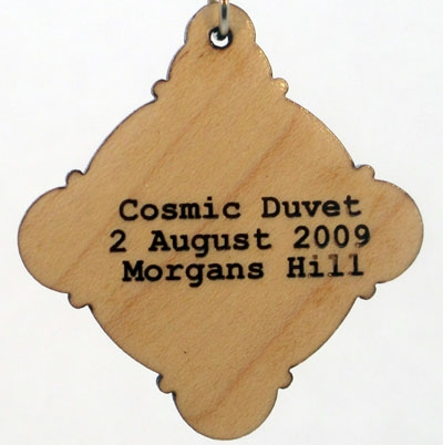 Cosmic Duvet Wood Pendant