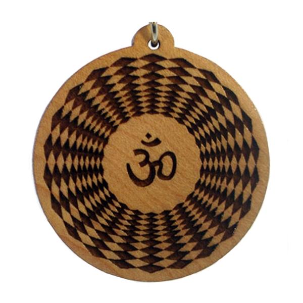 Eighth Chakra Wood Pendant