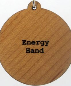 Energy Hand Wood Pendant
