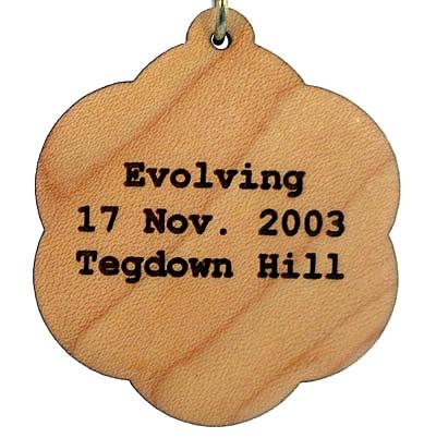Evolving Wood Pendant