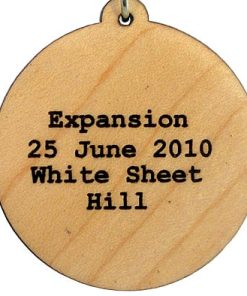 Expansion Wood Pendant