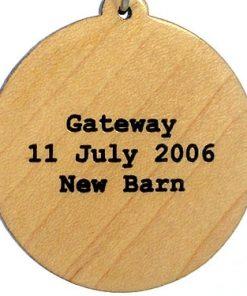 Gateway Wood Pendant