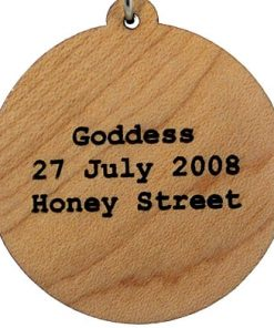 Goddess Wood Pendant