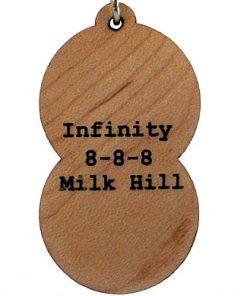 Infinity Wood Pendant