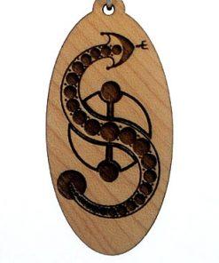 Kundalini Wood Pendant