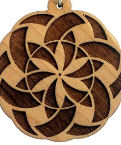 Manifesting Wood Pendant