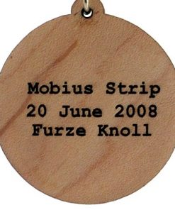 Mobius Strip Wood Pendant