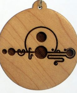 Musical Wood Pendant