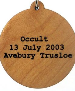Occult Wood Pendant