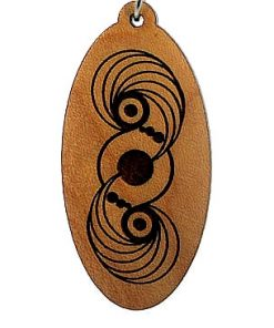 Portal Wood Pendant