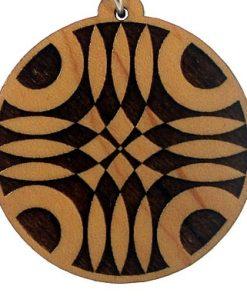 Pulsation Wood Pendant