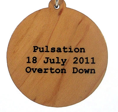 Pulsation Wood Pendant