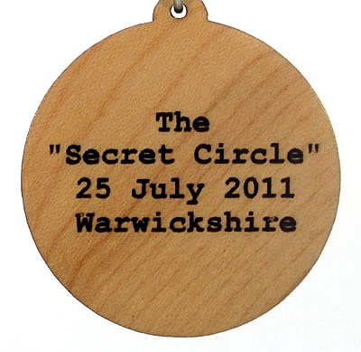 Secret Circle Wood Pendant