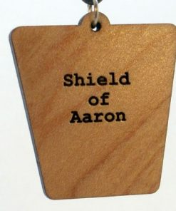 Shield of Aaron Wood Pendant