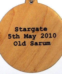 Stargate Wood Pendant