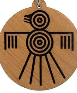 Thunderbird Wood Pendant