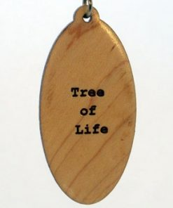 Tree of Life Wood Pendant