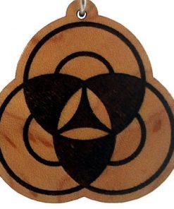 Trikaya Wood Pendant