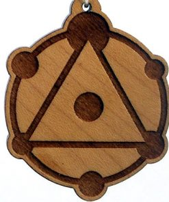 Triune Wood Pendant