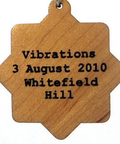 Vibrations Wood Pendant