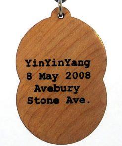 Yinyinyang Wood Pendant