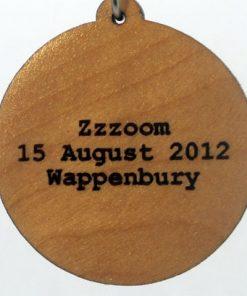 Zzzoom Wood Pendant