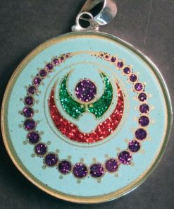 Cosmic Pearls Turquoise 01 Gemstone Pendant