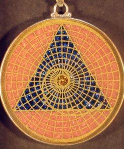 Golden Mean Rhodochrosite 01 Gemstone Pendant