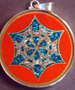 Memory Coral 01 Gemstone Pendant