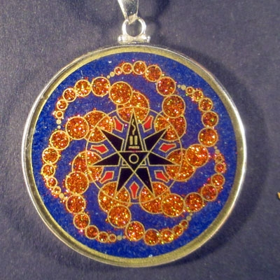 Alchemy Lapis Luzuli 04 Gemstone Pendant