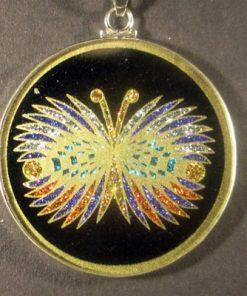 Butterfly tourmaline 07 Gemstone Pendant