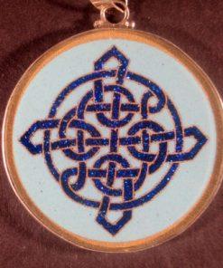 Celtic Knot turquoise 01 Gemstone Pendant
