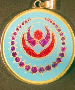 Cosmic Pearls Turquoise 03 Gemstone Pendant