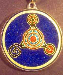Fourth Dimension lapis lazuli 03 Gemstone Pendant