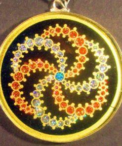 GalaxyTourmaline 04 Gemstone Pendant