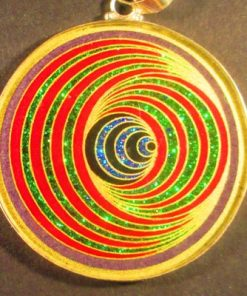 Gateway charoite 01 Gemstone Pendant