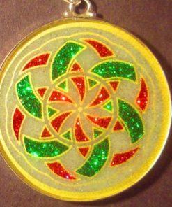 Manifesting quartz 01 Gemstone Pendant