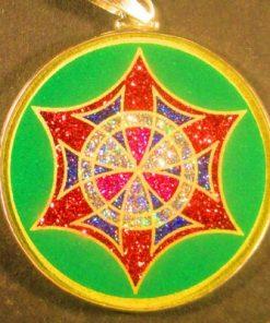 Memory Malachite 04 Gemstone Pendant