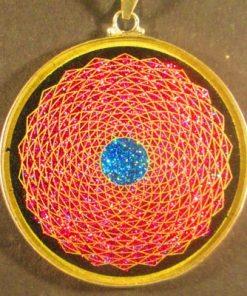 Sunflower tourmaline 01 Gemstone Pendant