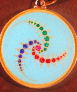 Triple Julius Set Turquoise 03 Gemstone Pendant