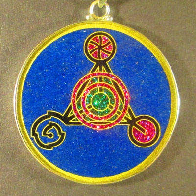 Fourth Dimension lapis lazuli 05 Gemstone Pendant
