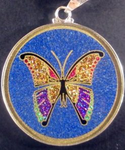 Metamorphosis lapis lazuli 02 Gemstone Pendant