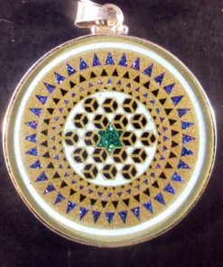 Releasing Turquoise 09 Gemstone Pendant