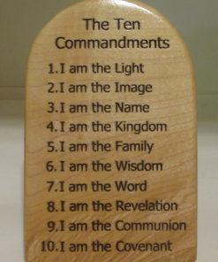 ten command light wood